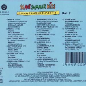16 Hot Summer Hits Vol2 B