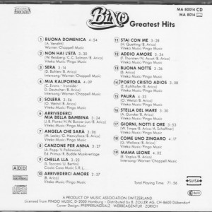 Bino Greatest Hits B