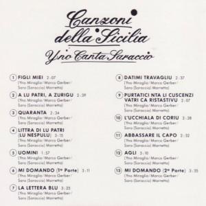 Canzoni della Sicilia B