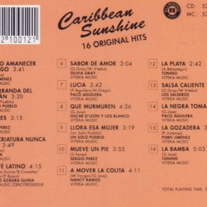 Caribbean Sunshine 16 Original Hits B