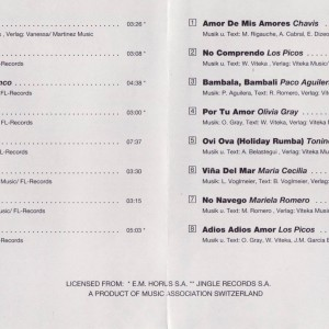 Espana Ole Vol. 1 B