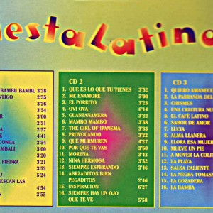 Fiesta Latino 3 CD Box B