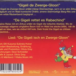 Gigeli de Zwerge-Gloon - De Gigeli rettet es Rabechind B