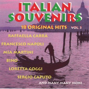 Italian Souvenirs 18 Original Hits Vol 3 A