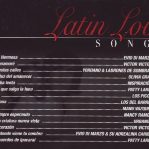 Latin Love Songs B