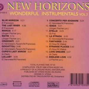 New Horizons - Wonderful Instrumentals B