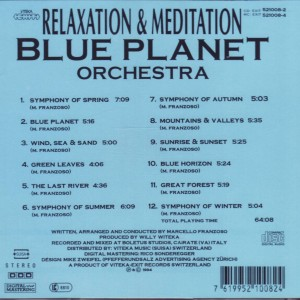Relaxation and Meditation_Blue Planet Orchestra B