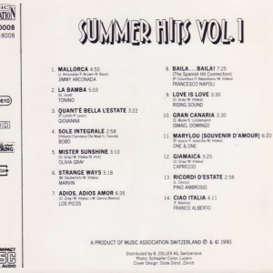 Summer Hits Vol.1B