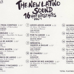 The New Latino Sound B