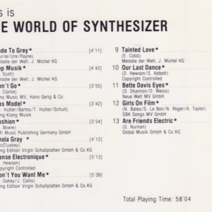 This is the world of Synthesizer B