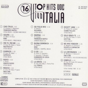 Viva Italia 16 Top Hits Vol.2 B