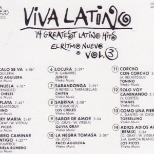 Viva Latino Vol. 3 B